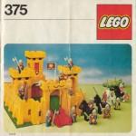 LEGO Set 375 Klassische Ritterburg