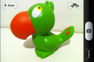 Screenshot der iPhone APP LEGO Photo während der Motiv-Auswahl