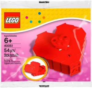 LEGO Set 40015 zum Valentinstag 2013 (Polybag). Foto von bricklink.com.