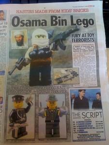 """Seite aus der britischen Zeitung """"The Sun"""""""