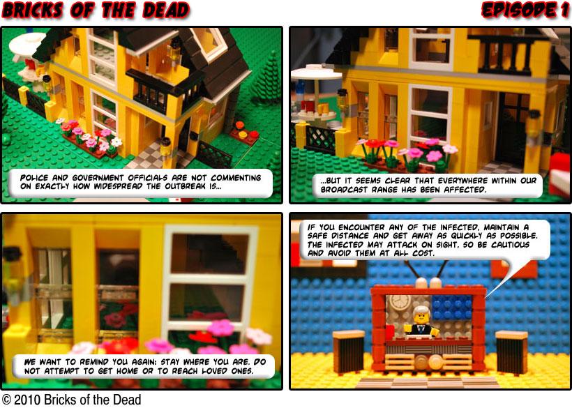 Bricks of the Dead - Episode 1 (c) http://bricksofthedead.com