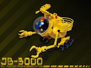 Die gelbstrahlende Lösung für alle Zombieprobleme