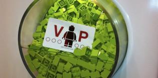 Mitglied Nr. 802 109 im LEGO® VIP Club