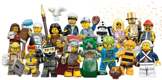 """Collectable Minifigs"""