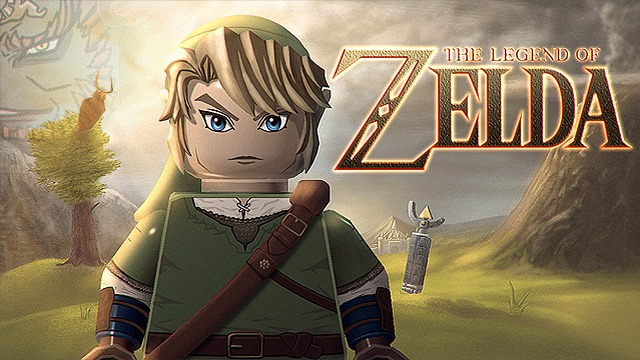 So könnte Link als Minifigur aussehen.