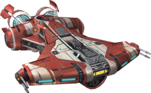 Corellian Defender-Class Light Corvette (Quelle: TOR Wiki)