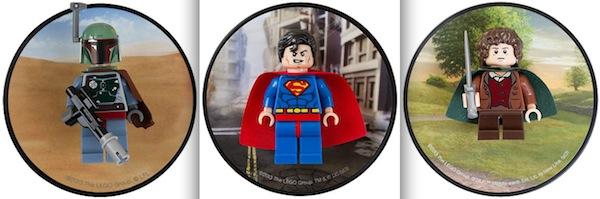 Die Magnete von Boba Fett, Superman und Frodo Beutlin