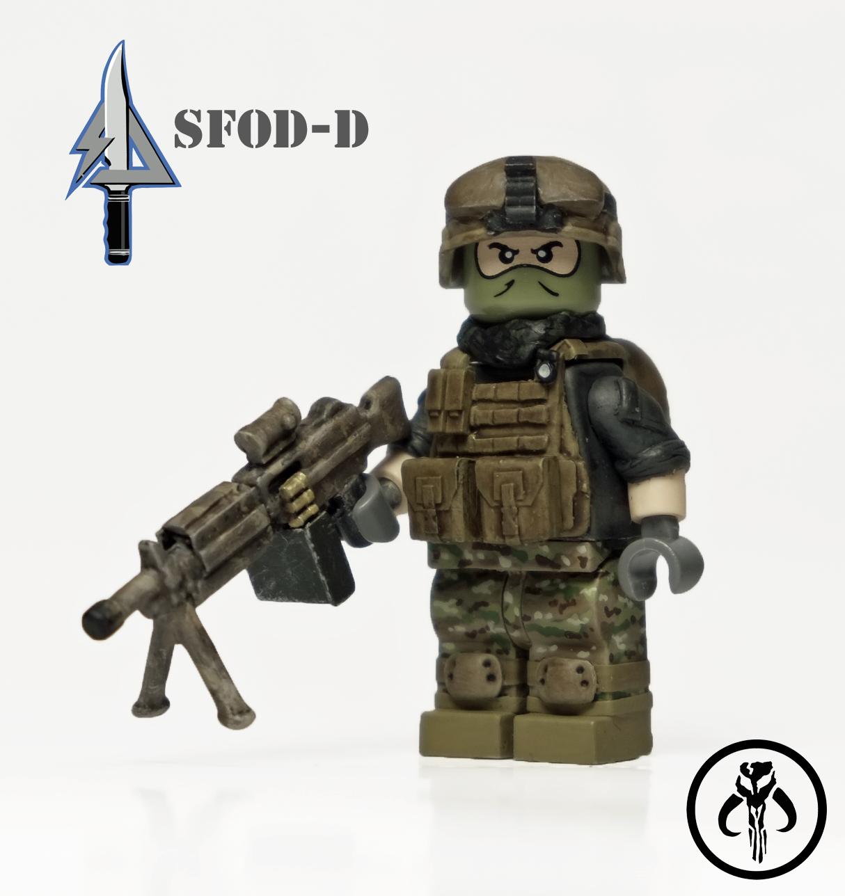 Militär-Customs von KalSkirata - Bricktopia : Bricktopia M14_ebr