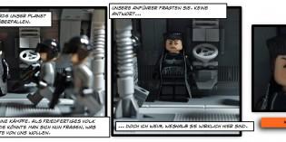 Der Anfang einer neuen Geschichte! Star Wars BrickStrip (Comic)
