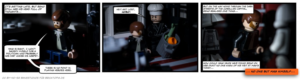 Corellia at night - BrickStrip #07