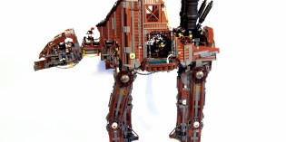 Steampunk time: Markus' alternativer AT-AT!
