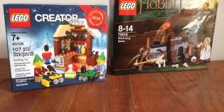 """Neue """"Herr der Ringe"""" LEGO Sets zum Film """"Der kleine Hobbit"""" verfügbar ab 15. Oktober im LEGO Store und online"""